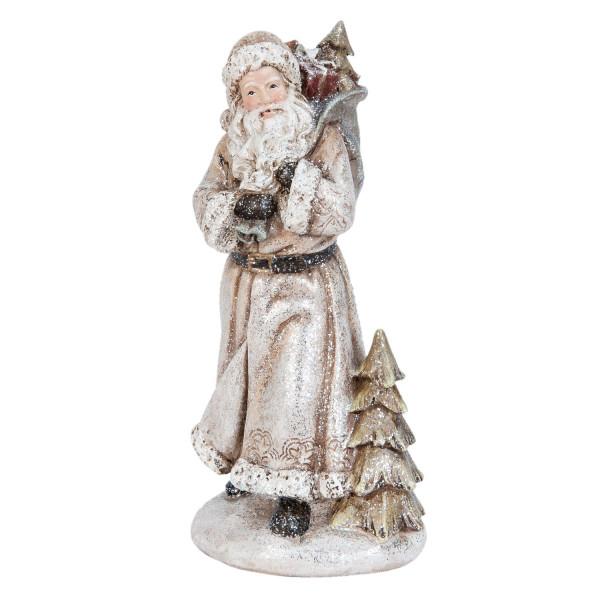 Figurina Mos Craciun polirasina 22 cm