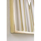 Decoratiune din metal aurie pentru perete Azhira 53 cm x 2 cm x 95h