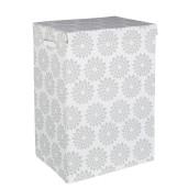 Cos rufe textil Flowers 40x30x60h