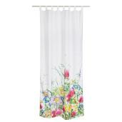 Perdea decorativa textil Flowers 140x280