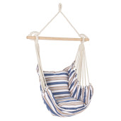 Hamac suspendabil textil crem albastru 85 cm x  100h