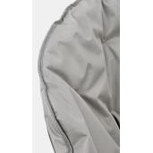 Fotoliu pliabil cadru din otel si perna textil gri Rock 65 cm x 75 cm x 80 h x 42 h1