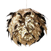 Sfera decorativa suspendabila aurie Ø cm 15