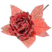 Peonia artificiala rosie 16 x 23 H