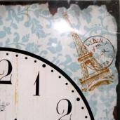Ceas de perete metal Life 25 cm x 40 cm