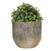 Ghiveci din ceramica maro Ø 16 cm x 16 cm