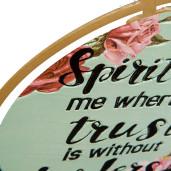 Tablou cu mesaj motivational Spirit Lead 26 x 1 x 35 cm
