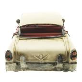 Macheta masina retro metal burgundy 29*11*10 cm