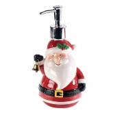 Dispenser sapun lichid Mos Craciun 11 cm x 20 h / 330 ml