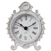 Ceas de masa metal gri Vintage 8*3*9 cm
