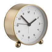 Ceas desteptator metal auriu clasic 8*5*12 cm