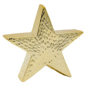 Decor ceramica Star gold 24 cm