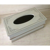 Cutie servetele lemn tip carte 27X16X10 cm
