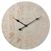 Ceas de perete gri auriu model Antiquite Ø 60 cm