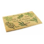 Covoras intrare casa antiderapant fibre cocos cauciuc Provence 60 cm x 40 cm