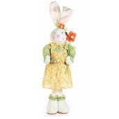 Figurina Iepuras Paste Girl textil 19 cm x 67 h