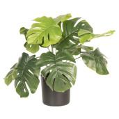 Floare artificiala verde in ghiveci 42 cm x 42 cm x 40 h