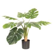 Floare artificiala verde in ghiveci 68 cm x 70 cm x 70 cm