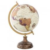 Glob pamantesc decorativ fier plastic 22 cm x 20 cm x 33 cm