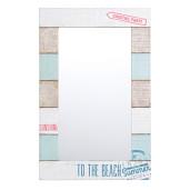 Oglinda decorativa perete cu rama lemn 35 cm x 55 h