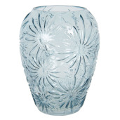 Vaza pentru flori din sticla albastra Ø 22 cm x 30 h