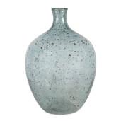 Vaza pentru flori din sticla albastra Ø 27 cm x 41 h