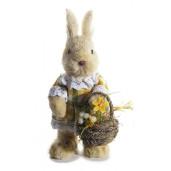 Figurina Iepuras Paste Girl rochita carouri cm 9 x 12 x 21,5 H