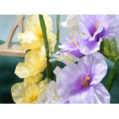 Floarea artificiala gladiola mov 78 cm