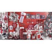 Figurina Mos Craciun rosu cm 32x23X81 H