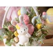 Crenguta decorativa cu oua Paste 19 cm