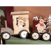 Trenulet lemn model Ren cm 36 x 6 x 10 H