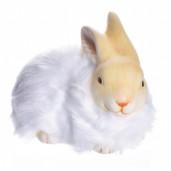 Iepuras ceramic alb  14 cm