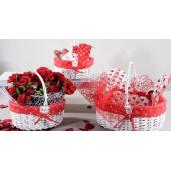 Set manusa+prosop+suport vase Heart