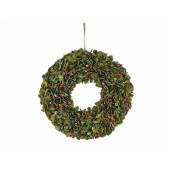 Coronita Craciun suspendabila Berry Glitter 42.5 cm