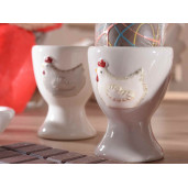 Suport ou ceramic Gallina Grey