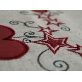 Fata de masa bumbac Heart 85*85 cm