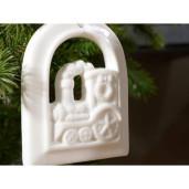 Decoratiune ceramica brad 10 cm