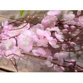 Crenguta floare artificiala piersic 58 cm