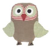 Decoratiune textila Owl 15 x 21 cm