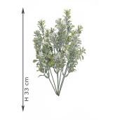 Creanga decorativa cu verdeata artificiala 15 cm x 30 cm